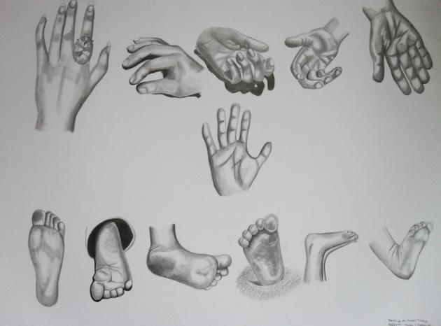 Dibujo a Lapiz por Beatriz Asato