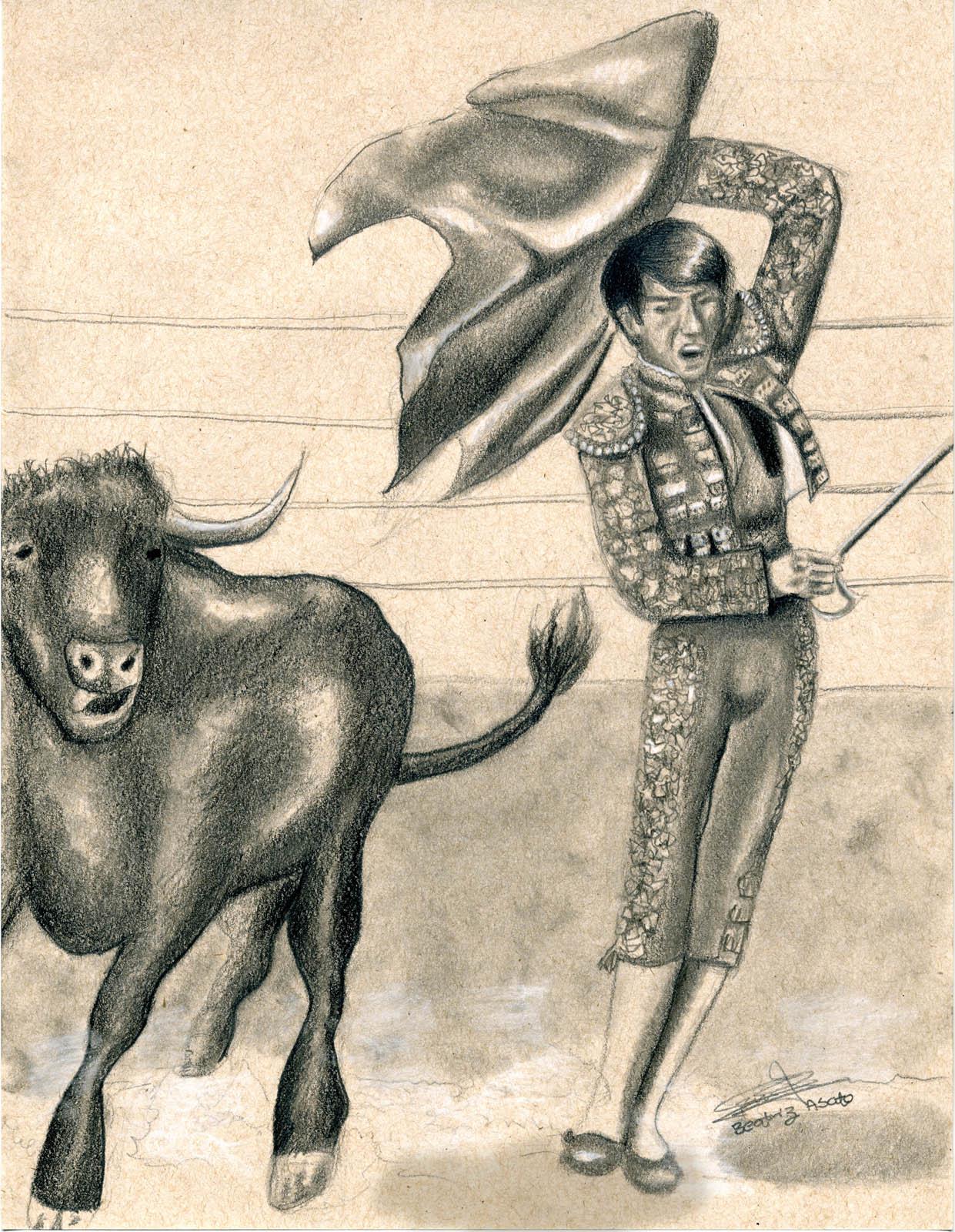 Dibujos A Lapiz Beatriz Asato